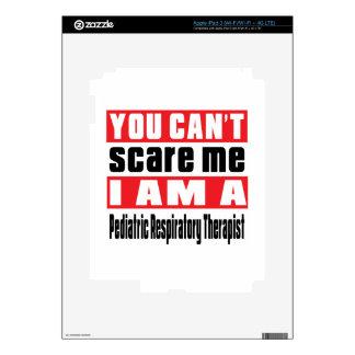 Pediatric Respiratory Therapist scare designs iPad 3 Skin
