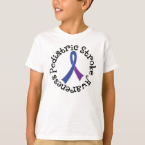 Pediatric Stroke Awareness Ribbon Tshirt