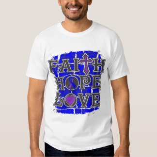Pediatric Stroke Faith Hope Love Tee Shirt
