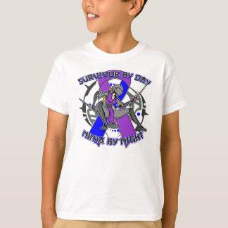 Pediatric Stroke Survivor By Day Ninja By Night T-Shirt