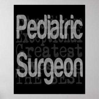 Pediatric Surgeon Extraordinaire Poster
