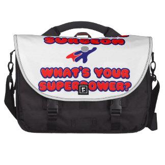 Pediatric Surgeon .. What's Your Superpower? Laptop Messenger Bag