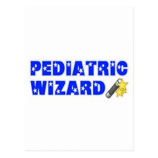 Pediatric Wizard Postcard
