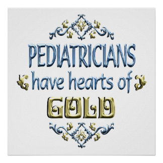 PEDIATRICIAN Appreciation Poster