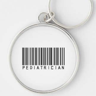 Pediatrician Bar Code Keychain