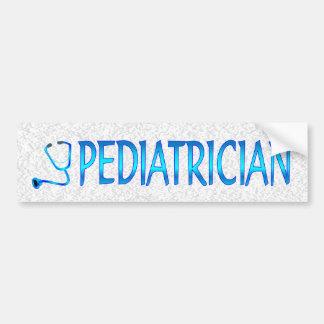 Pediatrician Bumper Sticker