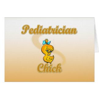 Pediatrician Chick Card