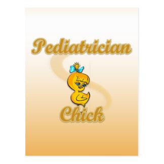 Pediatrician Chick Postcard