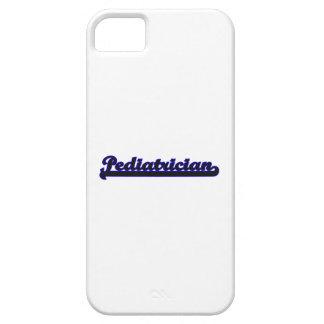 Pediatrician Classic Job Design iPhone 5 Cases
