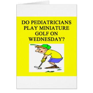 pediatrician doctor physician joke card