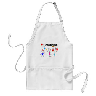 Pediatrician Gifts Kids Stickpeople Designs Adult Apron
