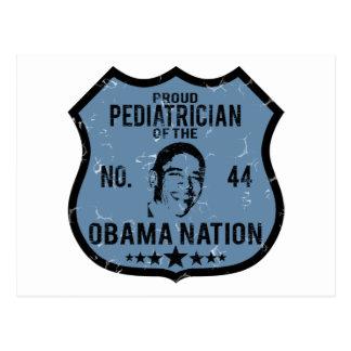 Pediatrician Obama Nation Postcard