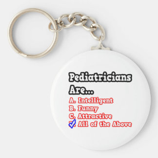 Pediatrician Quiz...Joke Keychain