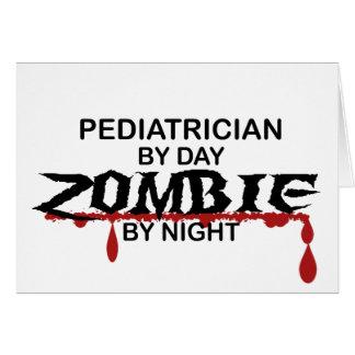 Pediatrician Zombie Greeting Cards