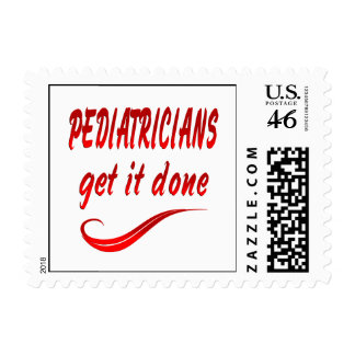 Pediatricians Get it Done Stamp