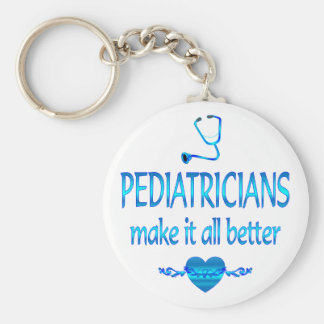 Pediatricians Make it Better Keychain