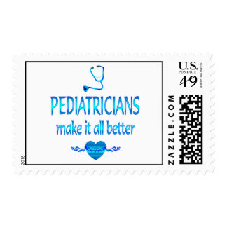 Pediatricians Make it Better Postage Stamp