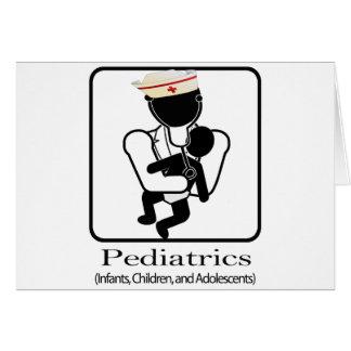 PEDIATRICS LOGO - INFANTS, CHILDREN, ADOLESCENTS CARD