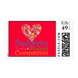 Pediatrics- Love, Compassion and Kindness! Stamps