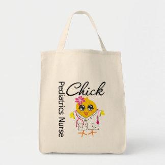 Pediatrics Nurse Chick v2 Canvas Bag