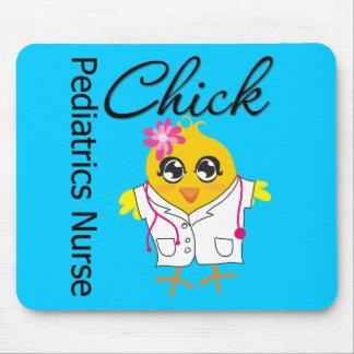 Pediatrics Nurse Chick v2 Mouse Pad