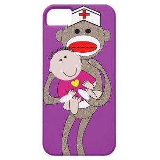 Pediatrics Nurse  Sock Monkey iPhone 5 Case