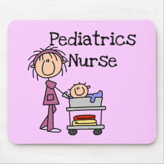 Pediatrics Nurse T-shirts and Gifts Mouse Pad