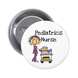 Pediatrics Nurse T-shirts and Gifts Pinback Button