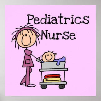 Pediatrics Nurse Tshirts and Gifts Poster