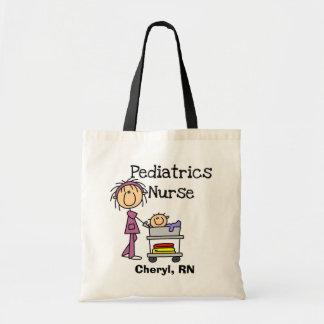 Pediatrics Nurse Tshirts and Gifts Tote Bag