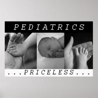 PEDIATRICS - NURSING CARE BABIES  PRICELESS POSTER