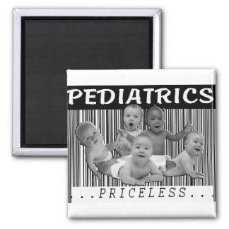 PEDIATRICS - PRICELESS BARCODE MAGNET