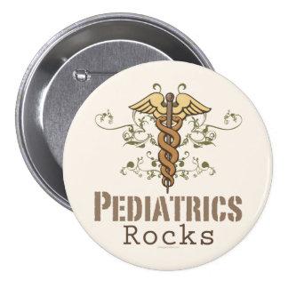 Pediatrics Rock Pediatrician Button