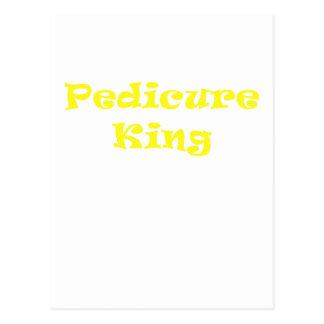 Pedicure King Postcard