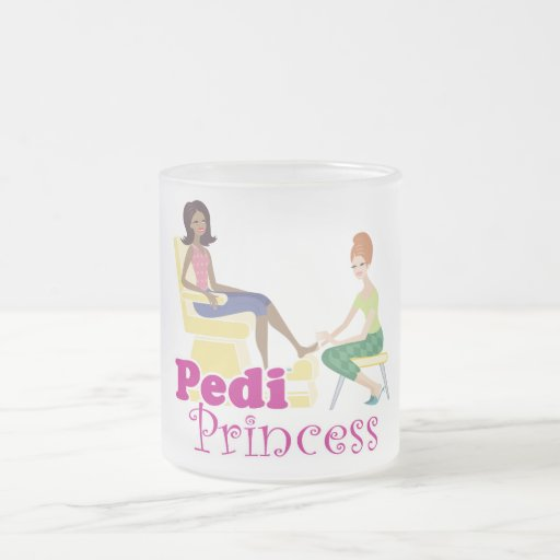Pedicure Princess Mug