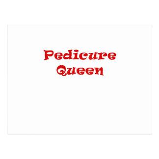 Pedicure Queen Postcard