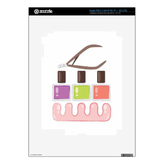 Pedicure Tools iPad 3 Skin