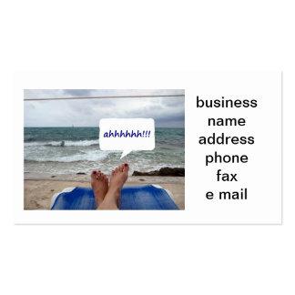 PEDICURIST BUSINESS CARD