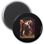 Pedido de John Everett Millais del lanzamiento Imán Redondo 5 Cm