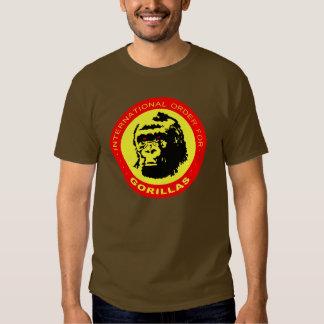Pedido internacional para los gorilas 2 playera
