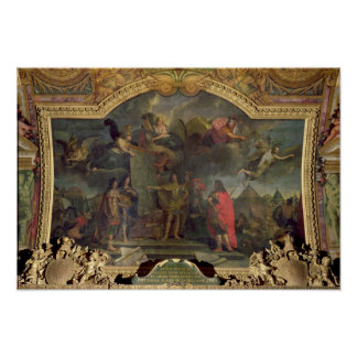 Pedidos de rey Louis XIV a atacar simultáneamente Impresiones
