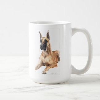 pedigree dog greeting Great Dane Classic White Coffee Mug