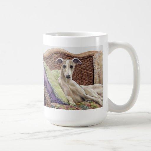 pedigree dog mug whippet dog
