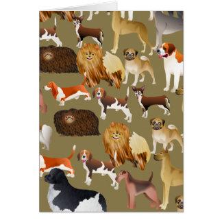 Pedigree Dog Wallpaper Card