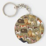 Pedigree Dog Wallpaper Key Chain