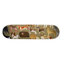 Pedigree Dog Wallpaper Skateboard Deck