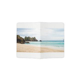 Pedn Vounder, Cornwall Beach Passport Case