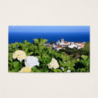 Pedreira - Nordeste, Azores Business Card