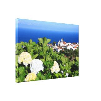 Pedreira - Nordeste, Azores Gallery Wrapped Canvas