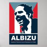 Pedro Albizu Campos - Bandera Posters